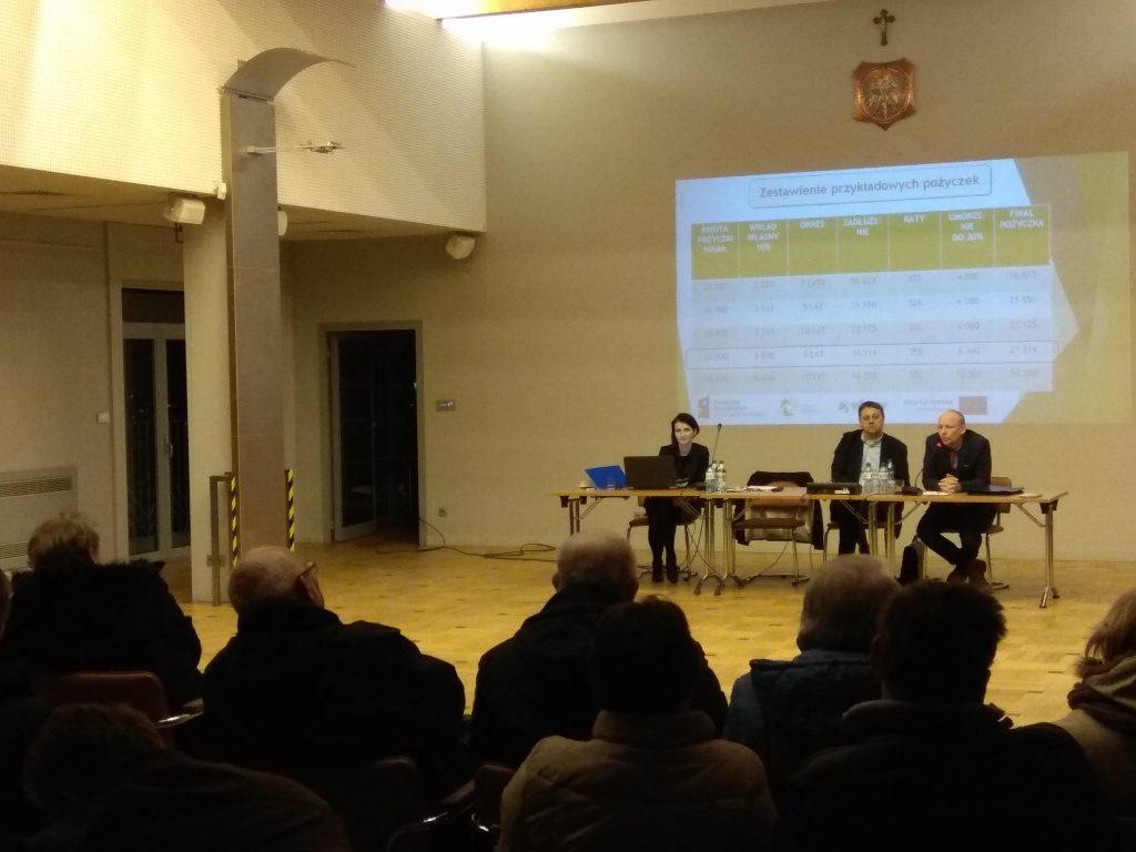 Spotkanie z Doradcą Energetycznym w Mogilanach